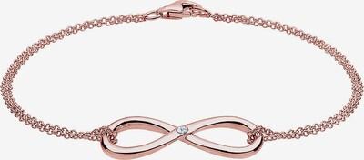 Diamore Armband in de kleur Rose-goud, Productweergave