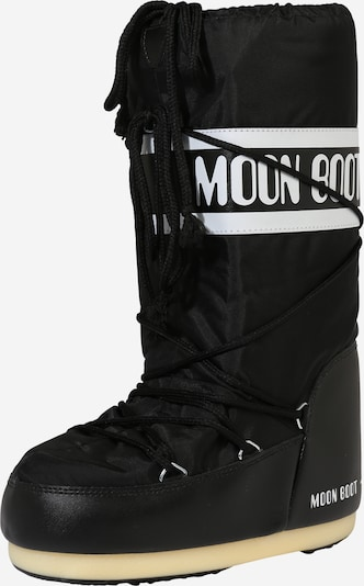 MOON BOOT Snowboot 'Nylon' in schwarz, Produktansicht