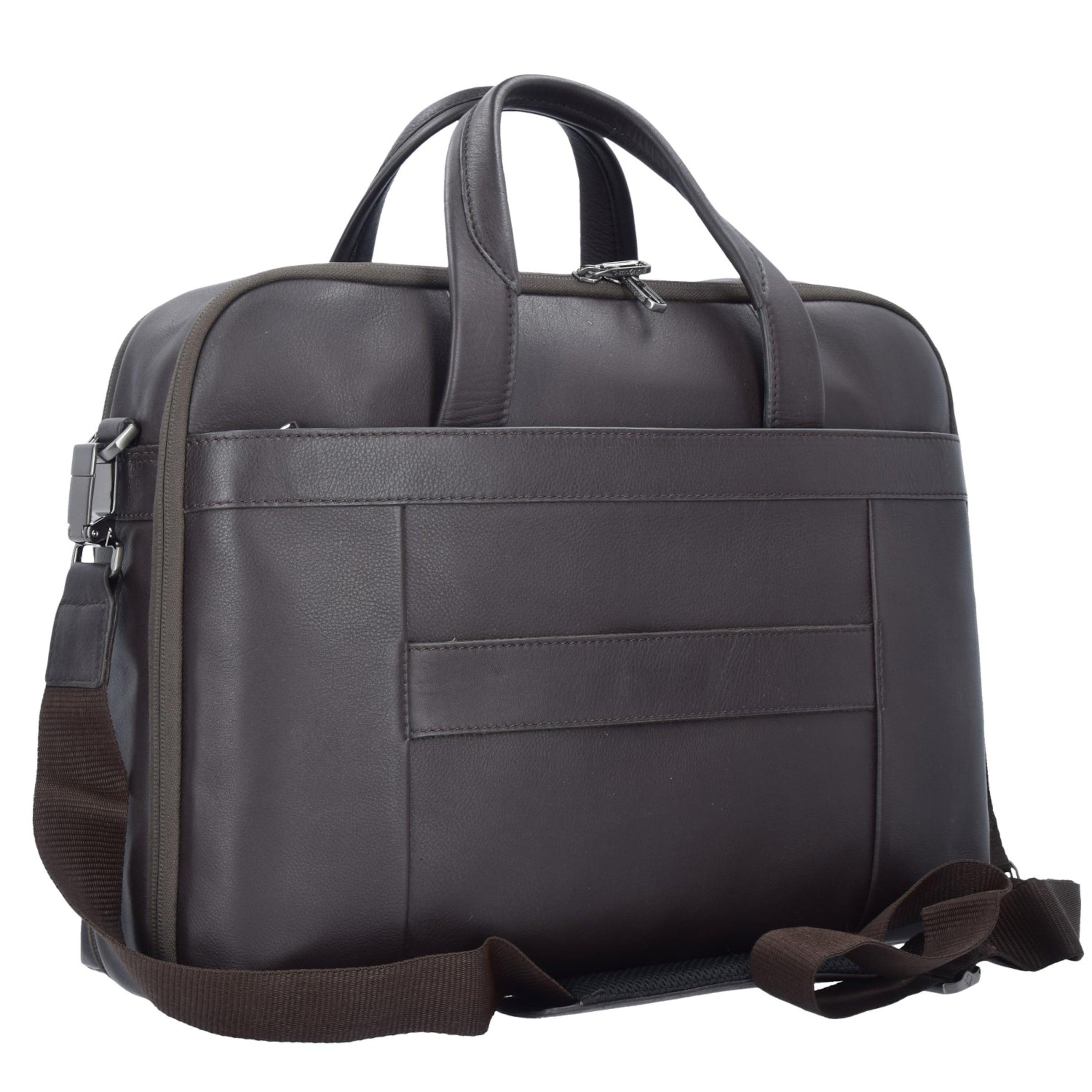 SAMSONITE Sygnum Aktentasche Leder 42 cm Laptopfach Spielraum Geschäft Zum Verkauf 3CgHqO