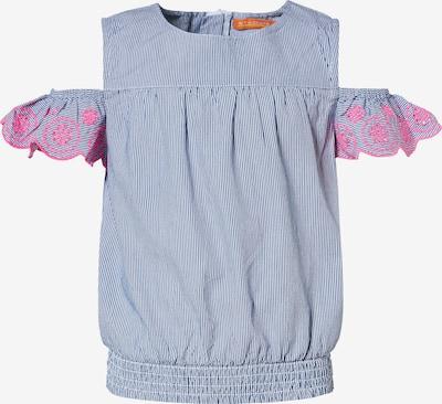 STACCATO Bluse in navy / pink / weiß, Produktansicht