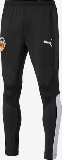 PUMA Trainingshose 'Valencia CF Pro' in schwarz / weiß, Produktansicht