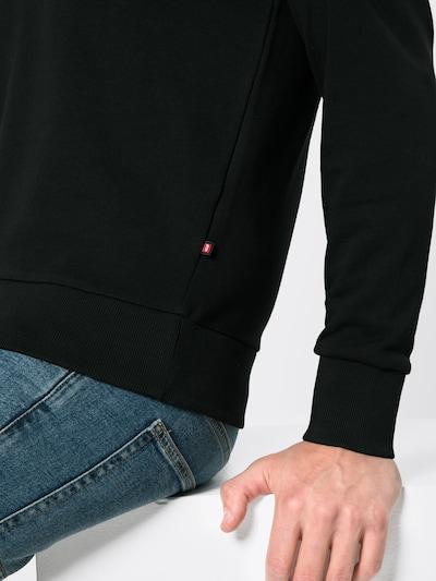 JACK & JONES Sweatshirt in schwarz, Produktansicht