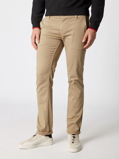 BOSS Casual Chinohose in camel: Frontalansicht
