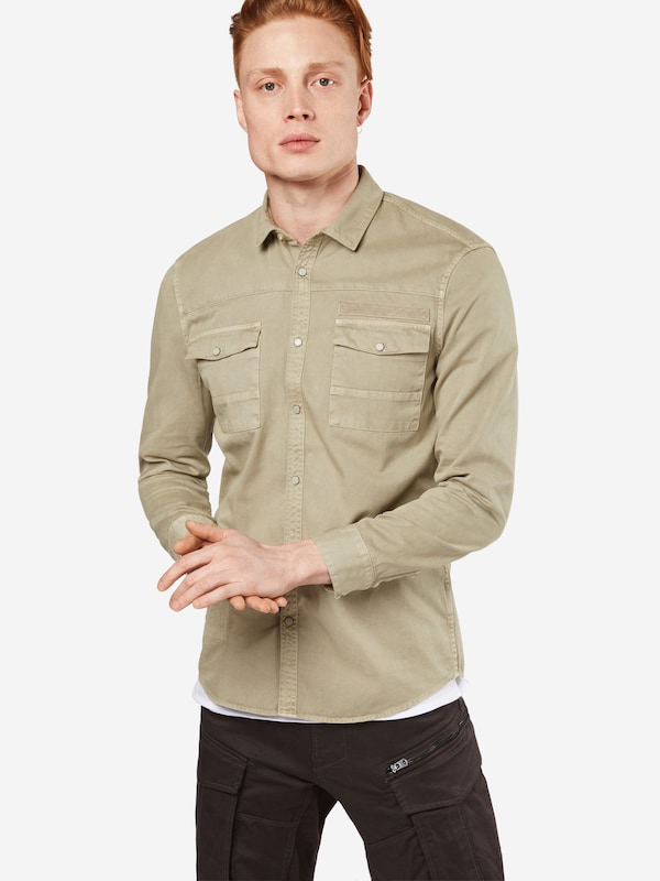Review Hemd 'WASHED SHIRT'