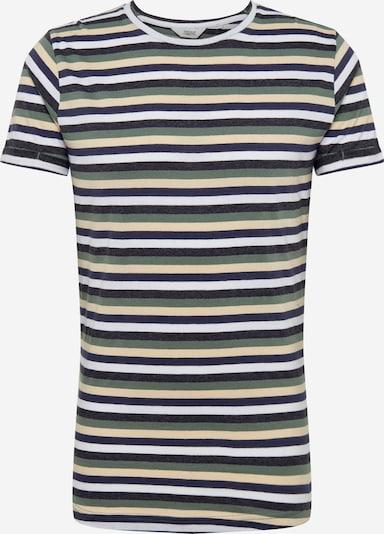 !Solid Shirt 'Jaiden' in blau / oliv, Produktansicht