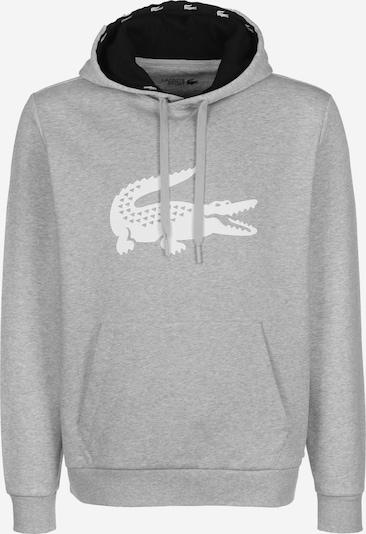 Lacoste Sport Hoodie in grau, Produktansicht