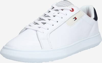 TOMMY HILFIGER Sneakers low 'ESSENTIAL LEATHER CUPSOLE' in white, Item view