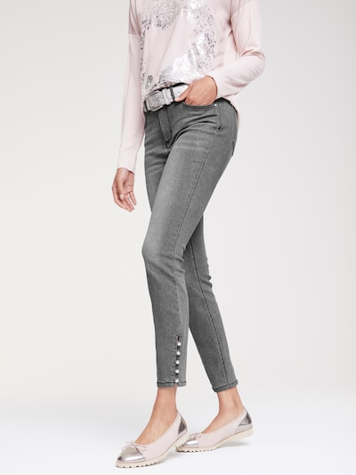 heine Jeans in grey denim, Modelansicht