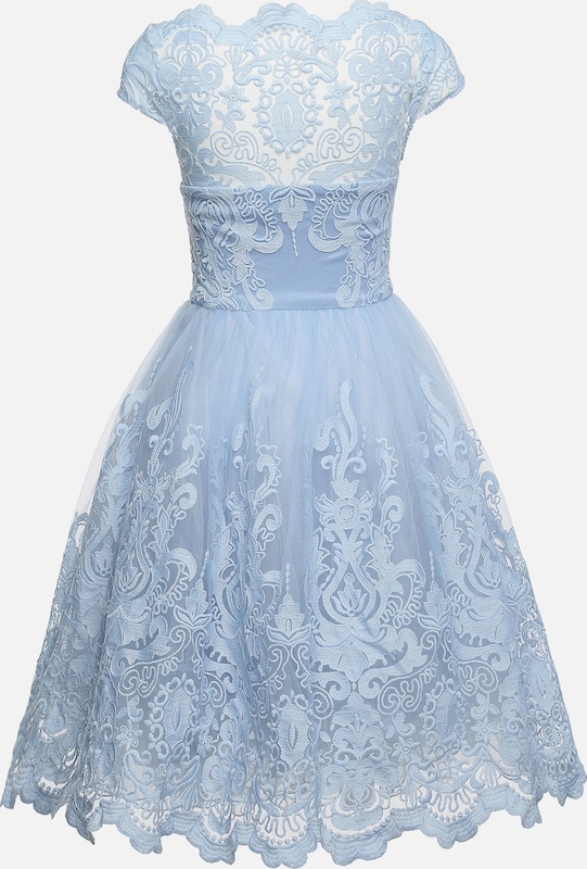 Robe Clair Chi Dress' London En De Cocktail Bleu 'rhiannon 7gIYfymb6v