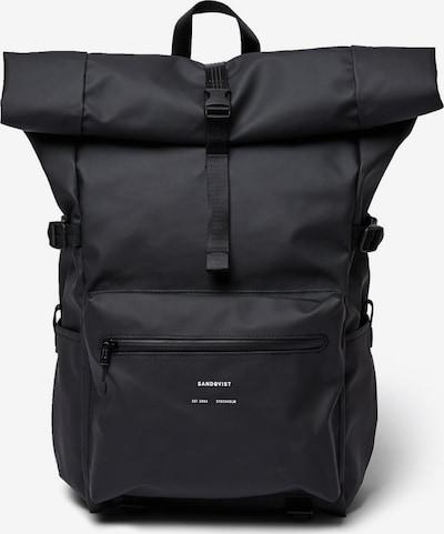 SANDQVIST Rugzak 'RUBEN' in de kleur Zwart, Productweergave