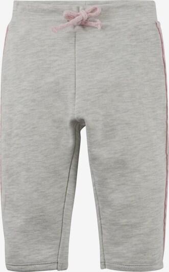 TOM TAILOR Jogginghose in graumeliert / rosa, Produktansicht