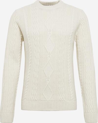 BURTON MENSWEAR LONDON Pullover 'milford' in offwhite, Produktansicht