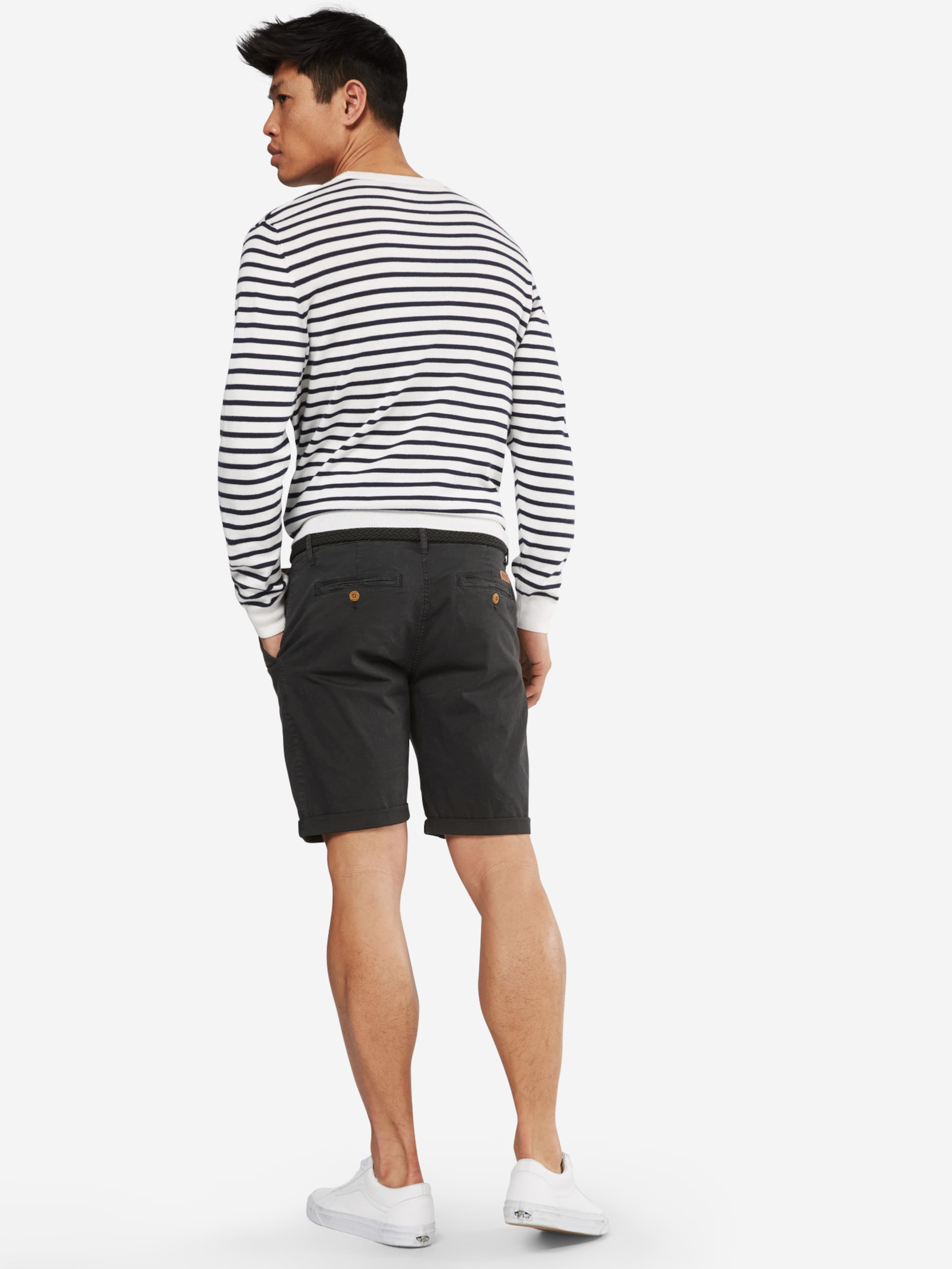 Jeans Indicode Pantalon 'conor' En Anthracite Chino Ybgfy67