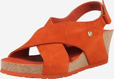 PANAMA JACK Sandale 'Valeska' in orangerot, Produktansicht