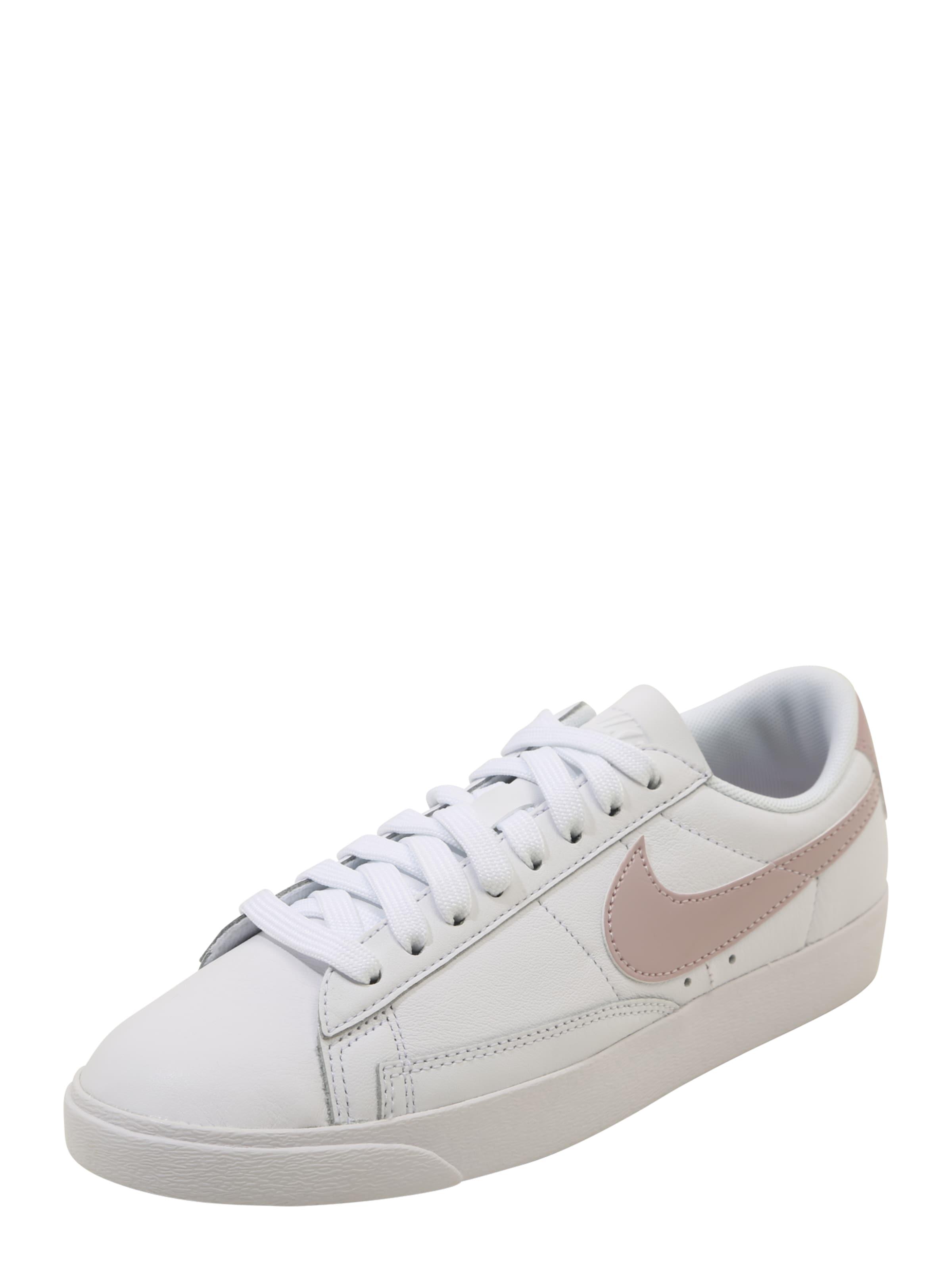 Nike Sneakers Blazer Couche De Vêtements De Sport Bas Le « Rose / Blanc En Poudre RSmxtwC42K