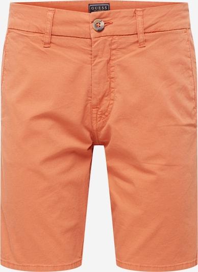 GUESS Chino hlače 'DANIEL' u narančasto crvena, Pregled proizvoda