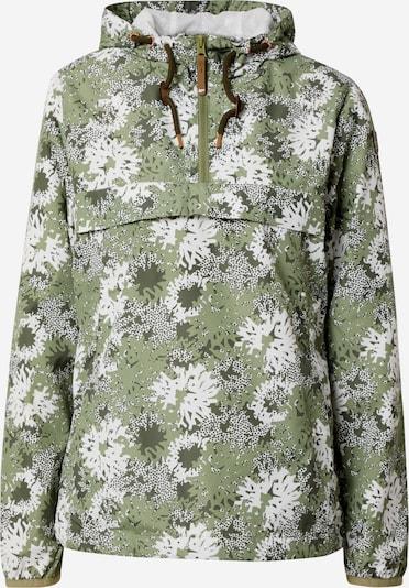 ICEPEAK Funkcionalna jakna 'ADDIS' | zelena / kaki / bela barva, Prikaz izdelka