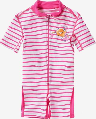 HYPHEN Schwimmanzug in pink / weiß, Produktansicht