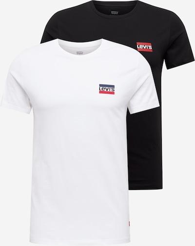 LEVI'S Tričko - čierna / biela, Produkt