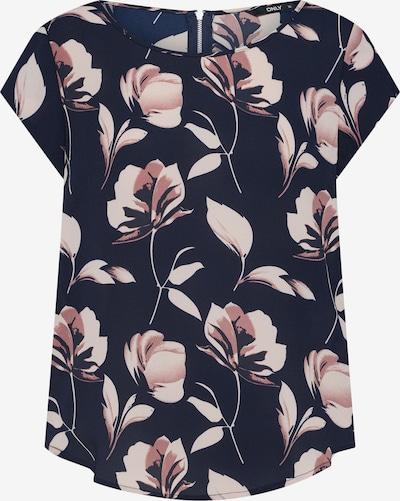 ONLY T-Shirt in nachtblau / rosé, Produktansicht