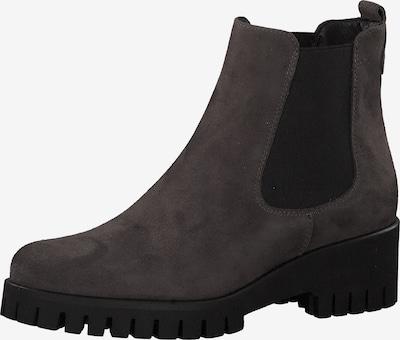 Chelsea batai iš TAMARIS , spalva - rausvai pilka / juoda: Vaizdas iš priekio