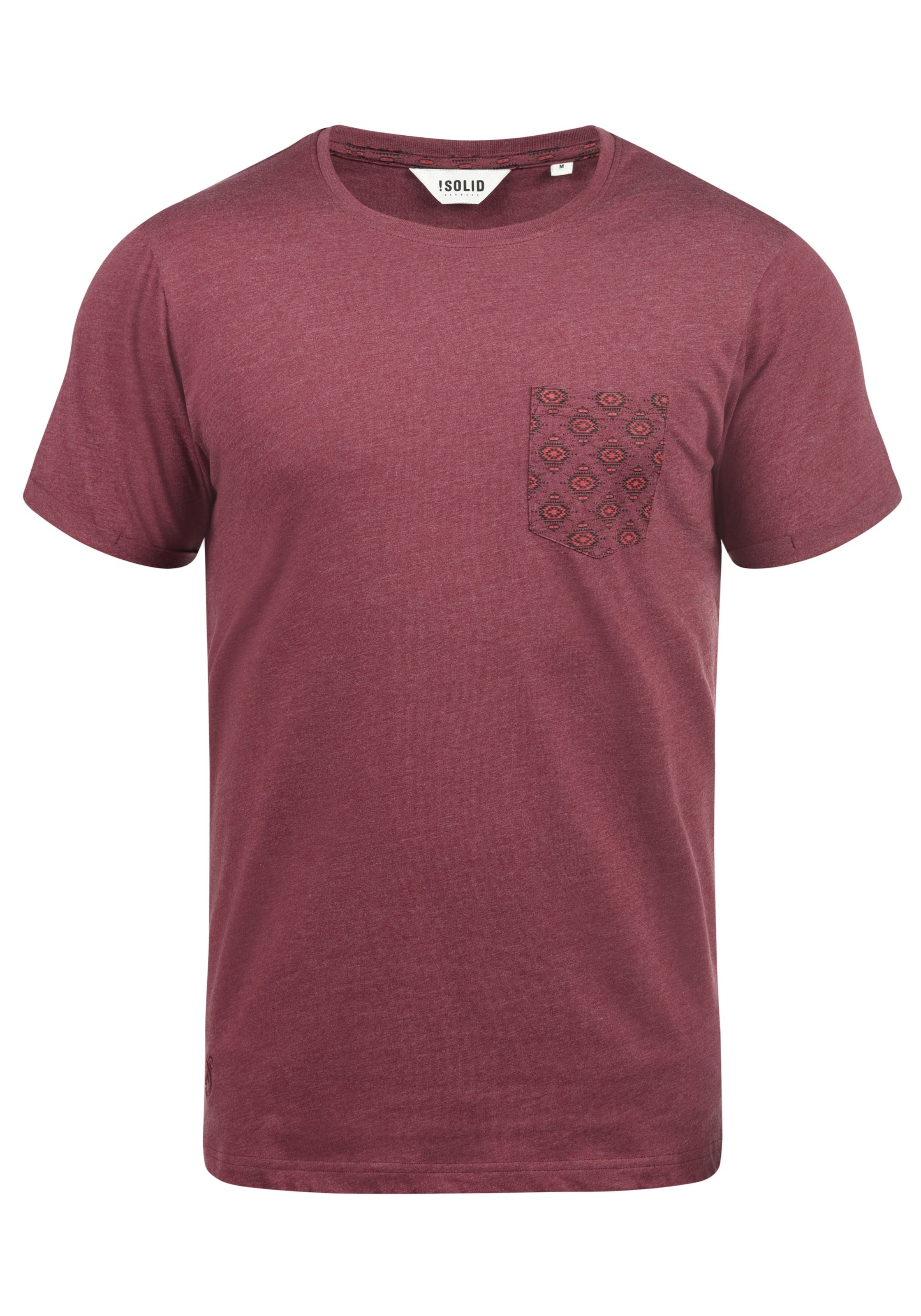 In Rundhalsshirt solid Rundhalsshirt In 'ilari' 'ilari' Rot Rot solid 'ilari' Rundhalsshirt In solid 2IW9EDH