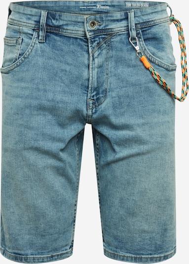 TOM TAILOR DENIM Jeans-Shorts mit Kordelanhänger in hellblau, Produktansicht