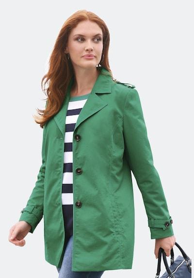 Anna Aura Trenchcoat in grün, Modelansicht