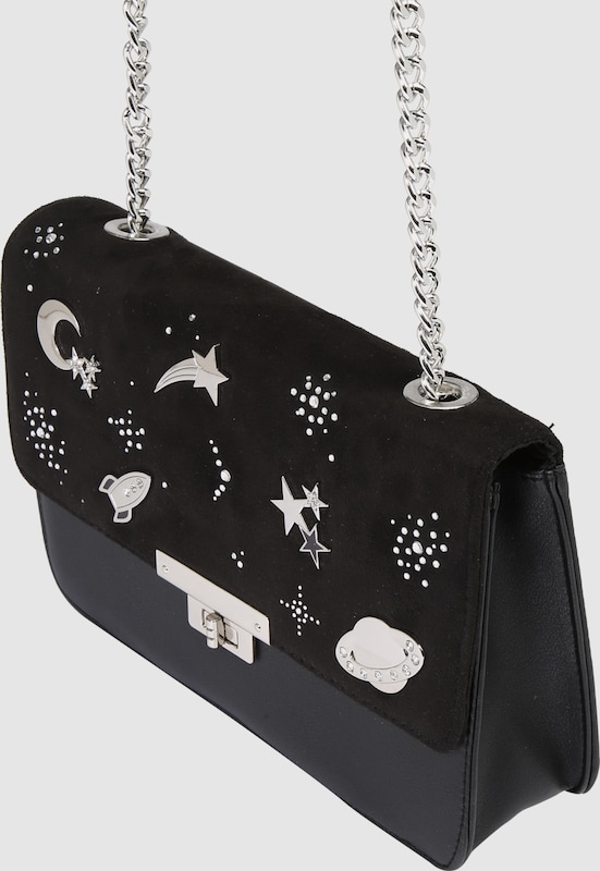 NEW LOOK Handtasche 'SPACE PIN'