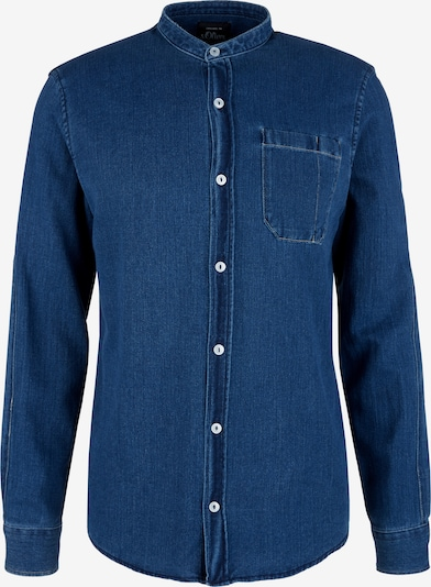 s.Oliver Hemd in blue denim, Produktansicht