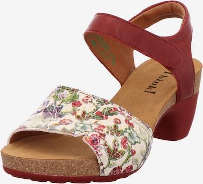 THINK! Sandalen/Sandaletten in braun, Produktansicht