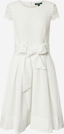 Lauren Ralph Lauren Cocktailjurk 'ZIARAH-CAP SLEEVE-COCKTAIL DRESS' in de kleur Crème, Productweergave