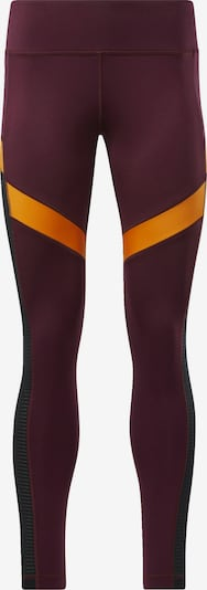 REEBOK Leggings in orange / rot, Produktansicht