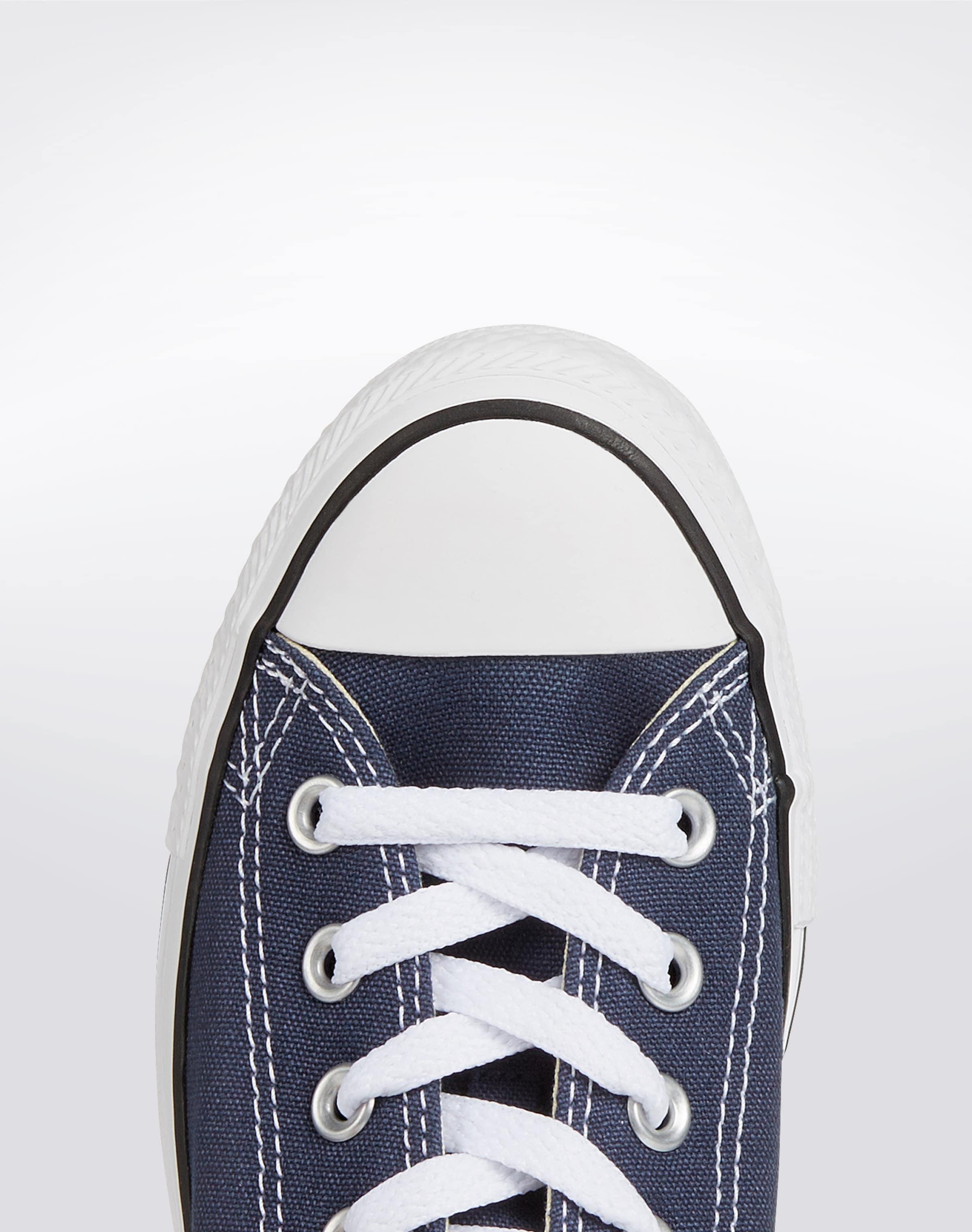 CONVERSE Låg sneaker 'Chuck Taylor All Star Ox' i marinblå / vit