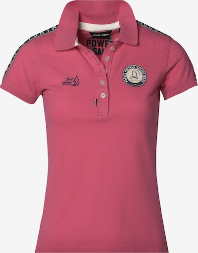 CODE-ZERO Polo Shirt 'Puerto Portals' in pink, Produktansicht