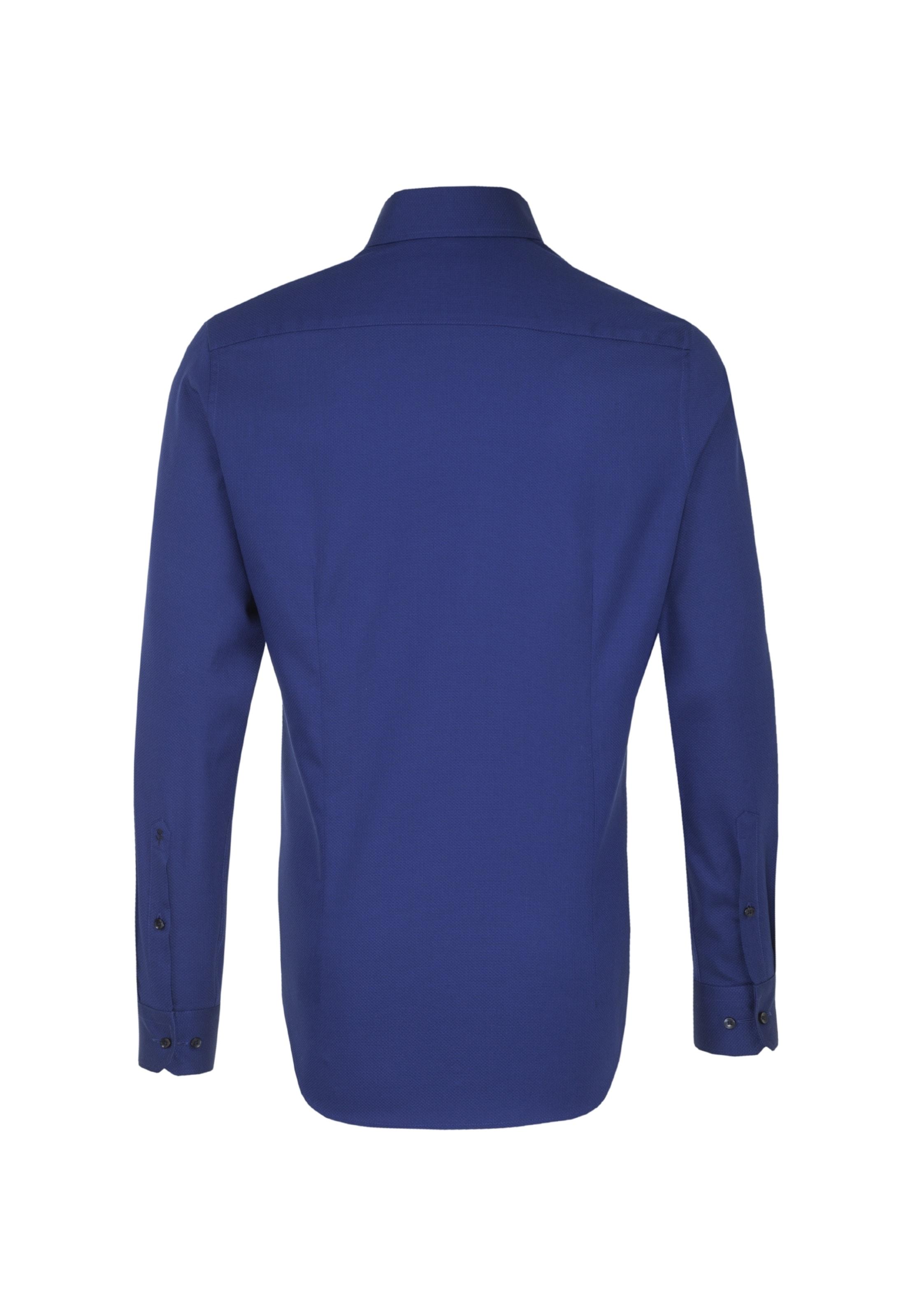 Seidensticker Hemd In Hemd Seidensticker Blau Aq4jL5R3