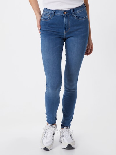 kék farmer TOM TAILOR DENIM Jeggings 'Nela', Modell nézet