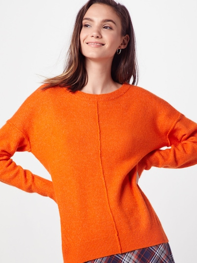 TOM TAILOR DENIM Pullover in orange, Modelansicht