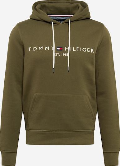 TOMMY HILFIGER Sweatshirt in marine / oliv / hellrot / weiß, Produktansicht