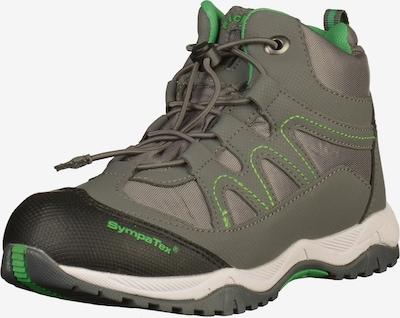 RICHTER Lage schoen in de kleur Grijs / Neongroen, Productweergave