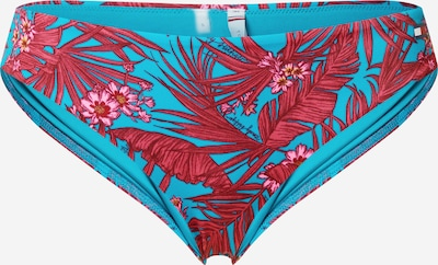 Tommy Hilfiger Underwear Spodní díl plavek - tyrkysová / rubínově červená: Pohled zepředu
