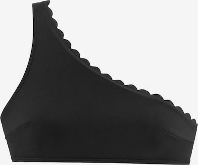 Bikinio viršutinė dalis 'Scallop' iš LASCANA , spalva - juoda, Prekių apžvalga