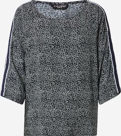 ZABAIONE Bluse 'Vivian' in navy / weiß, Produktansicht