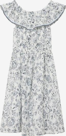 MANGO KIDS Robe en mélange de couleurs / blanc chiné, Vue avec produit