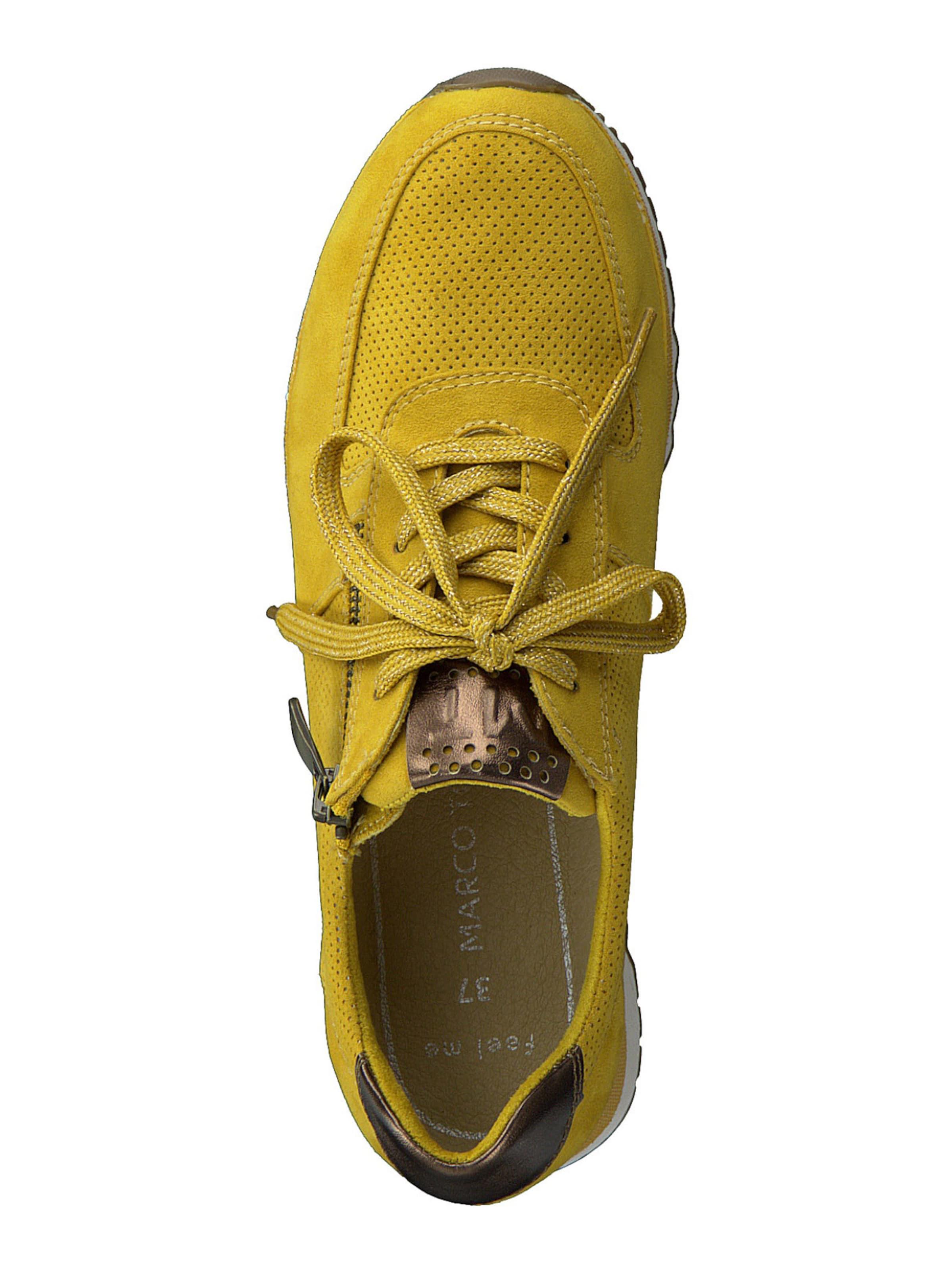 MARCO TOZZI Sneaker in safran / grau