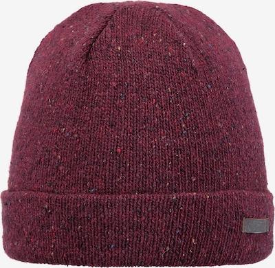 Barts Mütze 'Caber' in burgunder, Produktansicht
