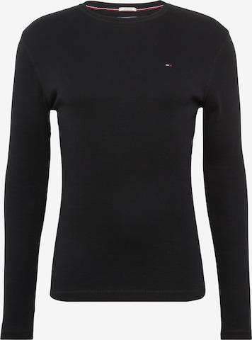 Tommy Jeans Shirt in Schwarz
