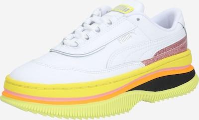 PUMA Sneaker 'Deva 90's POP Wn's' in gelb / weiß, Produktansicht