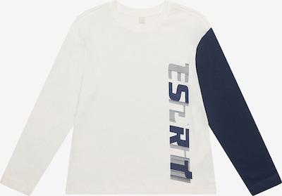 ESPRIT Langarmshirt in weiß, Produktansicht