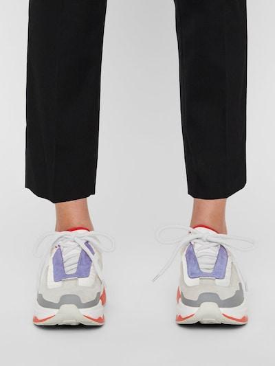 J.Lindeberg Twiggy Runner Sneaker in grau / lila / rot: Frontalansicht